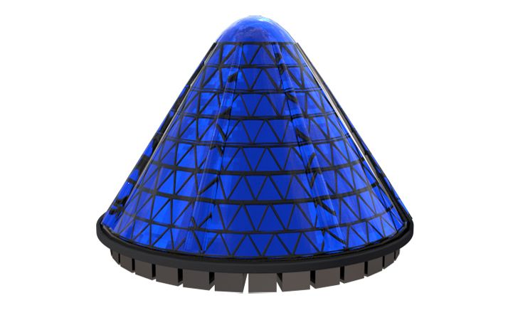 V3Solar's Spin Cell Cones Could Produce Electricity for the Insanely Low Cost of Eight Cents per kWh