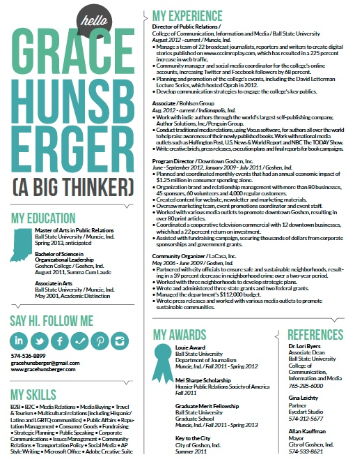 pr resume cravingcreativity learn more wwwgracehunsbergercom - Pr Resume Objective