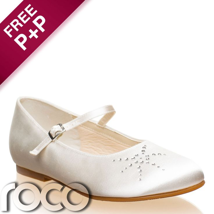 Girls Ivory Bridesmaid Shoes, Flower Girl Shoes, Bridesmaid Shoes, Kids Shoes #RainbowClub #Flats