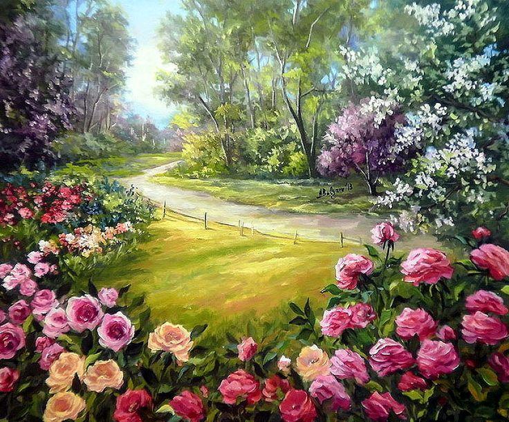 Pinturas de Paisagens Encantadores de Anca Bulgaru