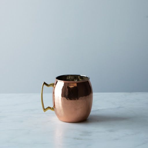 Perfect for winter libations!  Hammered Copper Moscow Mule Mug on Provisions by Food52