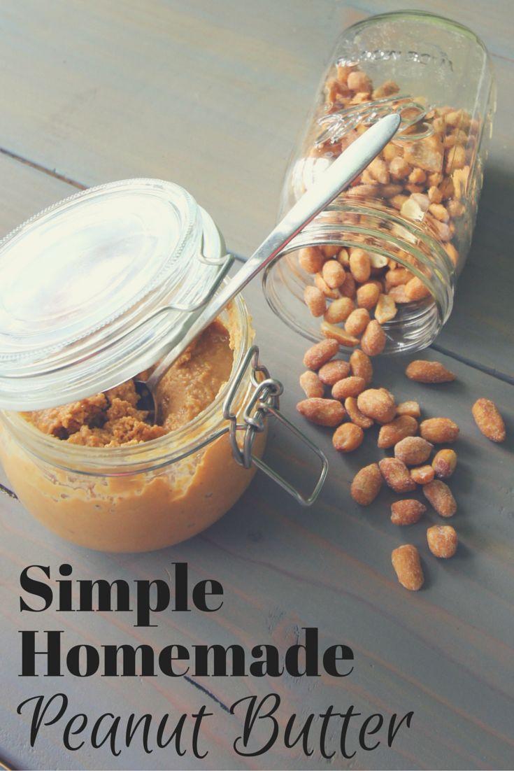 Zero Waste Nerd: Simple Homemade Peanut Butter