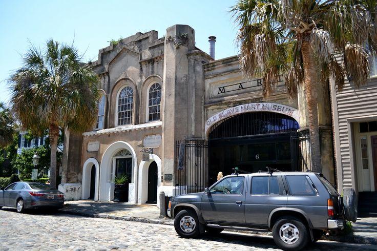 "Old Slave Mart. Charleston, SC (Музей ""Невольничий рынок"". Чарльстон, Южная Каролина)"