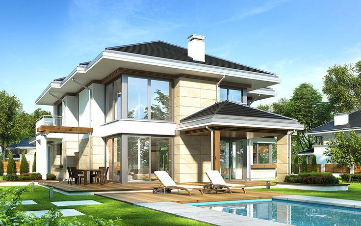 projekt-domu-dom-z-widokiem-6-wizualizacja-ogrodowa