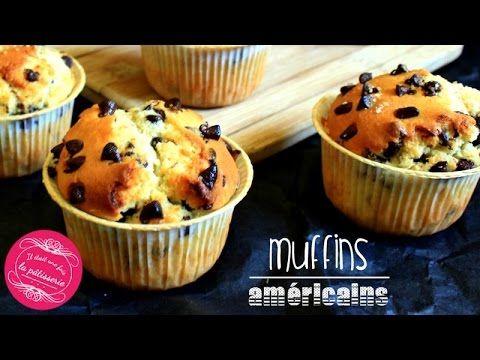 Recette des vrais muffins américains aux pépites de chocolat en vidéo ! #video #muffins