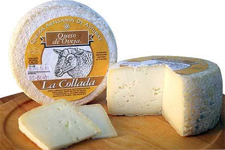 Queso la Collada de oveja, de Asturias