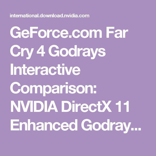 GeForce.com Far Cry 4 Godrays Interactive Comparison: NVIDIA DirectX 11 Enhanced Godrays vs. Ubisoft Volumetric Fog - Example #1
