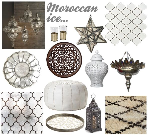 Star Glass U0026 Silver Pendant   Wunderley | Clayton Gray Home | Featured In  Moroccan Inspiration