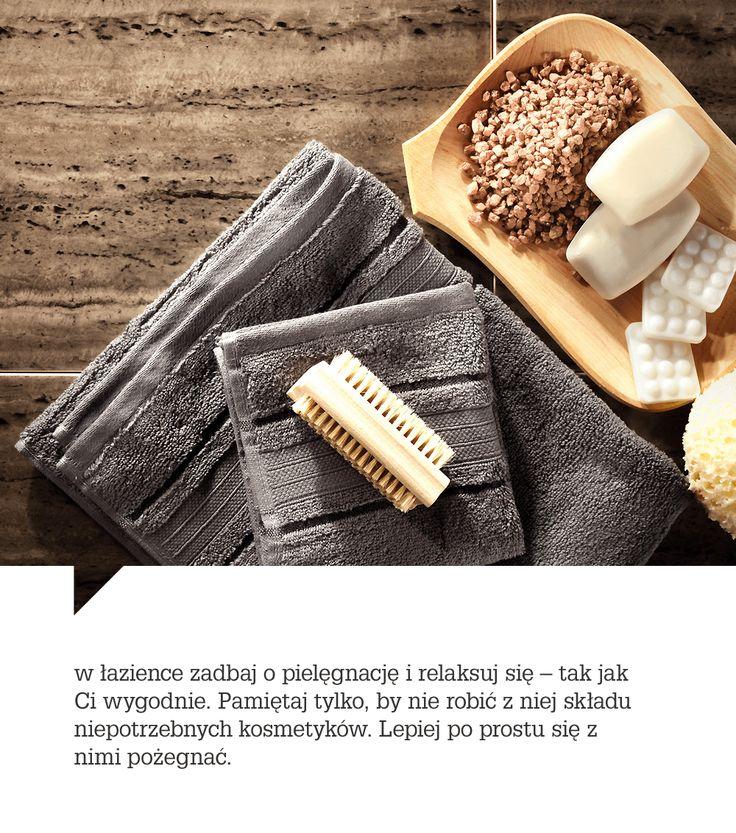 pamiętaj, by z łazienki nie robić składu niepotrzebnych kosmetyków. Lepiej po prostu się z nimi pożegnać.