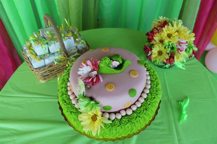 Cake Sweet Pea Baby Shower