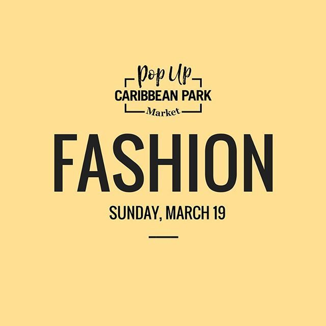 We are SO EXCITED for tomorrow! Come and explore Melbourne's unique and emerging designers and much more at @caribbean_park Fashion Pop Up Market! 8:30am to 4:30pm. See you there! 😄