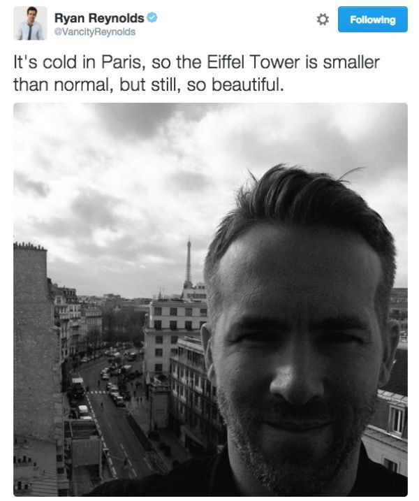 Ryan Reynolds twitter game is strong (29 Photos) : theCHIVE