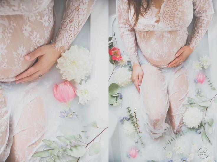 Série Milk Bath #izabelparephotographe #maternityshooting  #maternity