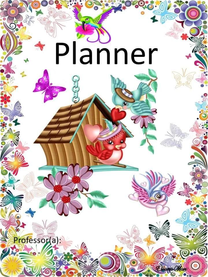 Planner Borboletas 2020 Eliana Max Em 2020 Com Imagens