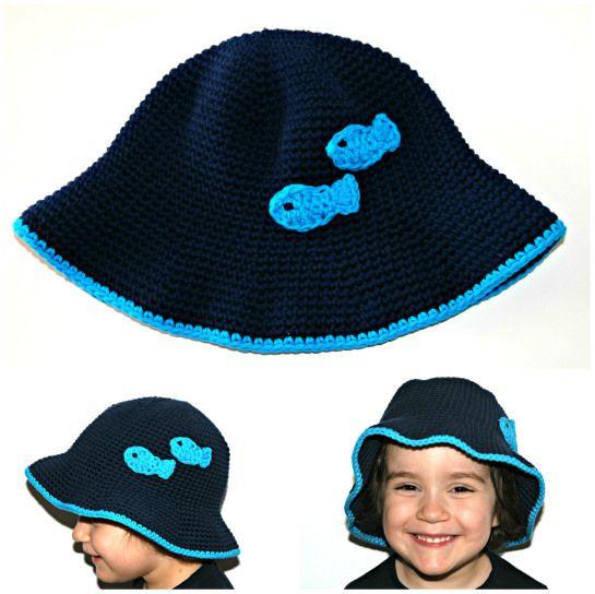 Chapéu peixinhos