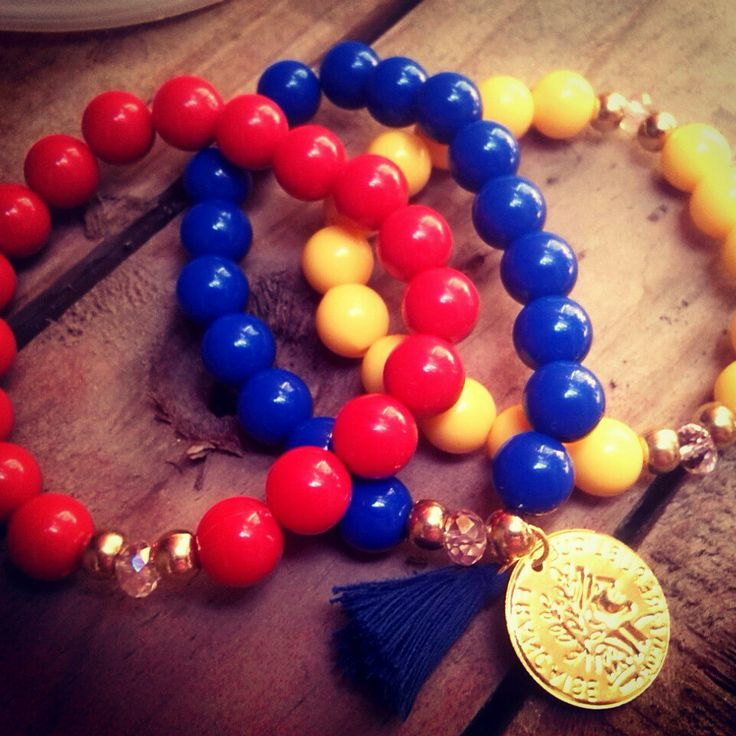Pulsos tricolor Moda Tendencia accesorios chic 2014 mundial