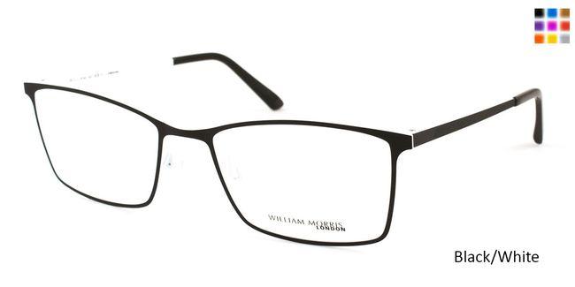 046c4fd585c Black White William Morris London WM2259 Eyeglasses