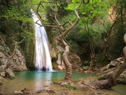 Neda, is a river in Greece featuring a feminine name...like no other! #greece