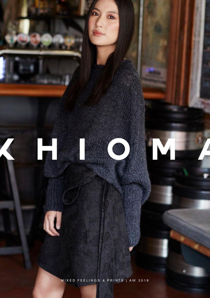 K H I O M A  AW2018 Campaign   SA Fashion   Cape Town Fashion Shop online
