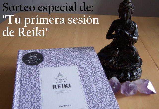 """Sorteo del libro """"Tu primer sesión de Reiki"""" de Alejandra Vidal"""