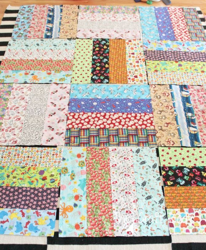 This is the easiest way to make an iSpy quilt for kids - follow this simple ispy quilt pattern that can be customized to any size.
