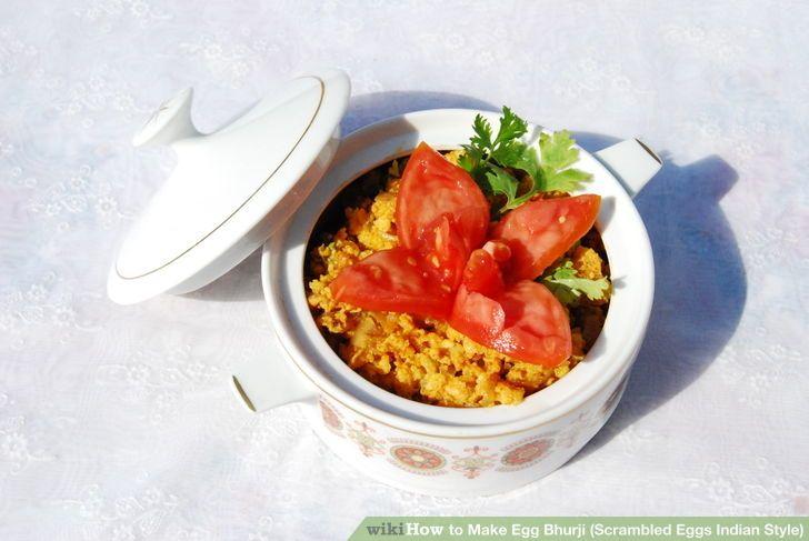 Image titled Make Egg Bhurji (Scrambled Eggs Indian Style) Step 8