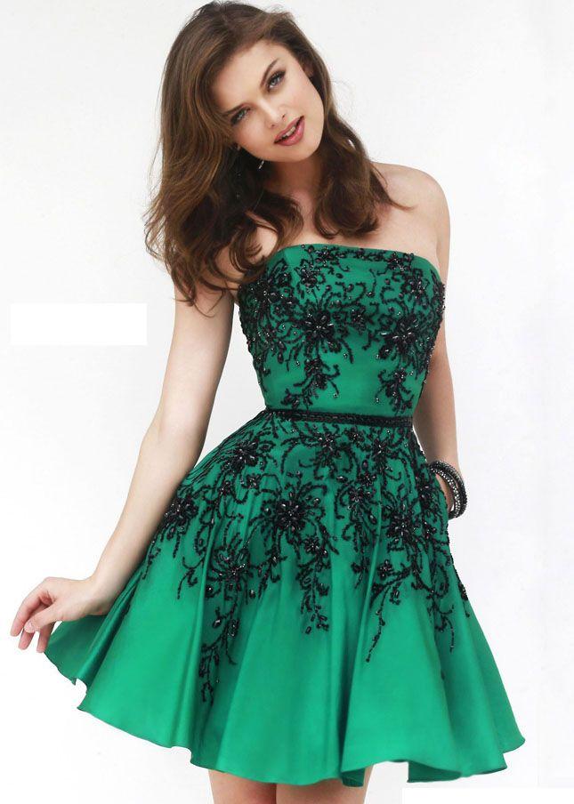 25  best ideas about Green cocktail dress on Pinterest | Green ...