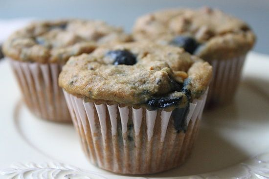 Chia Seed Blueberry Muffins   POPSUGAR Fitness