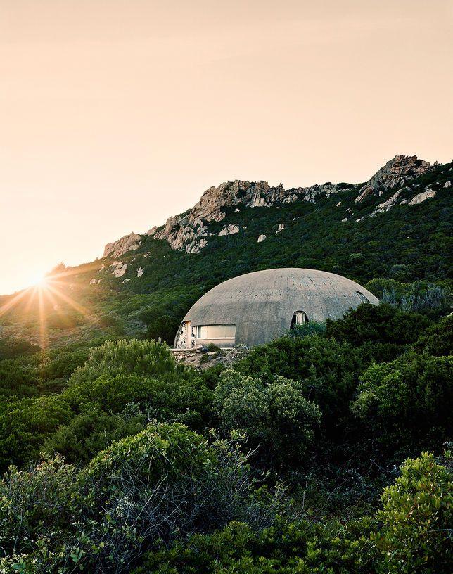 La Cupola, la maison qu'Antonioni fit construire pour Vitti en Sardaigne