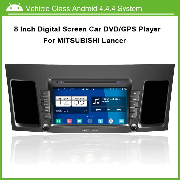 Android Car DVD Player For Mitsubishi Lancer 2010-2011 GPS navigation Multi-touch Capacitive screen,1024*600 high resolution.