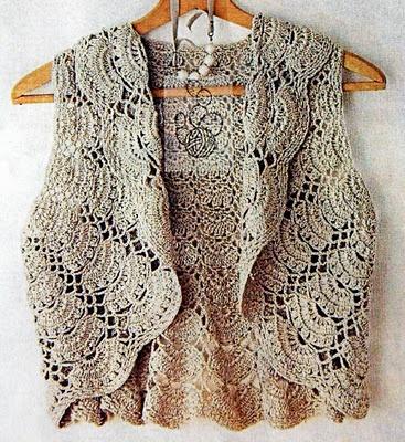crochet vest: Patterns Floating, Boleros Au, Crochet Vest, Crochetvest, Crochet Amy, Crochet Turning, Beautiful Crochet, Crochet Shrug, Crochet