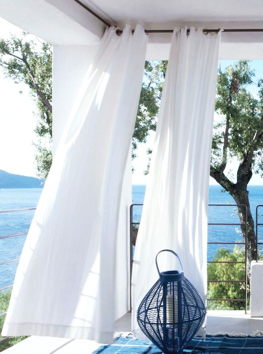 17 Best ideas about Beach Style Curtains on Pinterest   Beach ...