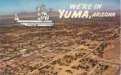 yuma arizona | Peach Auto Court Hotel. Yuma, Arizona. On the Yuma Mesa, U. S. 80 ...