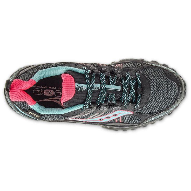 Chaussure de course trail femme Saucony Excursion Tr10 GTX women's trail running shoes Soccer Sport Fitness #soccersportfitness #saucony #running #trail #trailrunning #sport #fitness #courseapied #courir