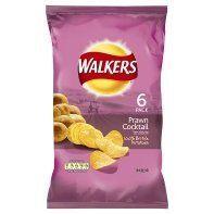 Walkers Prawn Cocktail Crisps 6 Pack 150g:Amazon