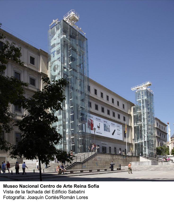 Museo Reina Sofia, Madrid - Spain... OoOo I remember that creepy glass elevator!