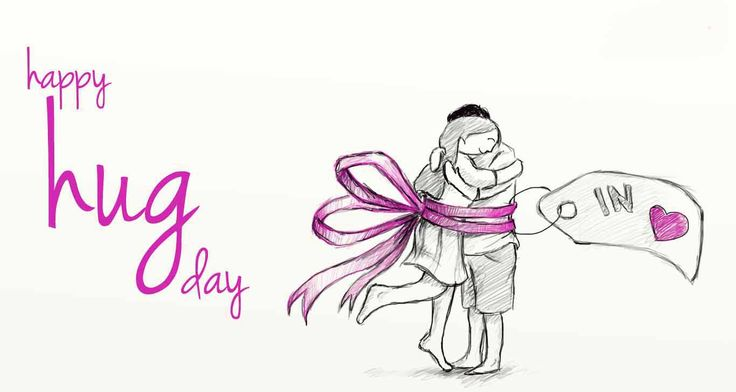 Happy Hug Day Cute Images