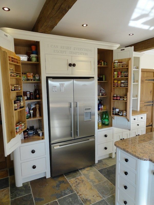 Larders & Pantry Cabinets - built-in or freestanding | Simon's
