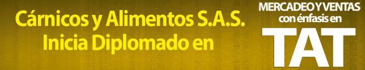 NUEVO GRUPO TAT – En esta ocasión la empresa Cárnicos y Alimentos S.A.S. capacita a s personal. ESCOLME recibió a los empleados de la empresa Cárnicos y Alimentos S.A.S. quienes ingresan a nuestras aulas para realizar el diplomado en Mercadeo y Ventas con énfasis en TAT. El diplomado único en Colombia está diseñado para la formación integral de vendedores TAT con el fin de desarrollar su potencial para que la empresa obtenga u…