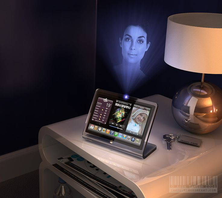 7 best holographic projector images on pinterest for Future gadgets and technology