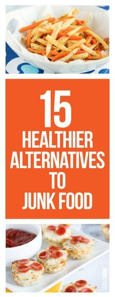 Healthy junk food? Yes please!