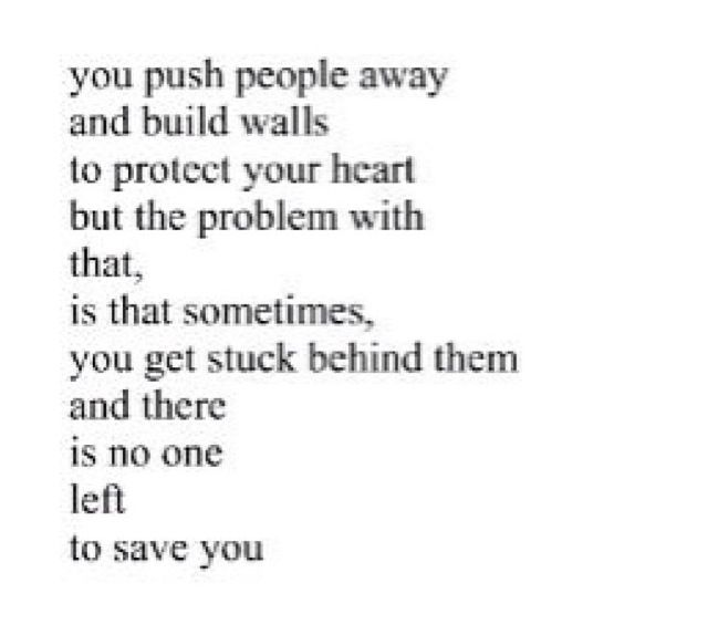 Building Walls To Protect Your Heart