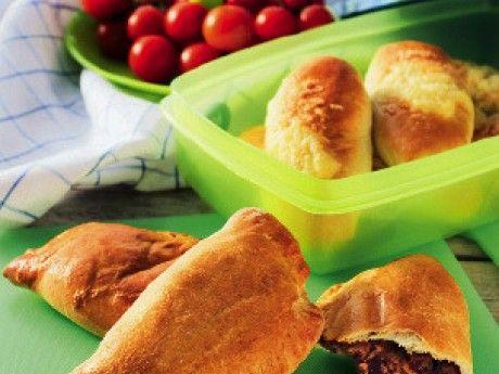 Piroger med kyckling, bacon och svamp Receptbild - Allt om Mat