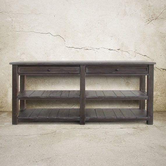 Table, Console Table, Media Console, Reclaimed Wood, TV Stand, Entertainment Console, Handmade, Rustic