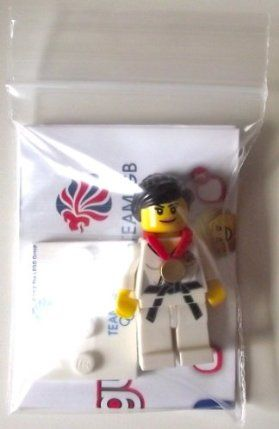 Lego Team GB Olympics Minifigures - Judo Fighter Set #8909 (UK Exclusive) by LEGO. $16.99