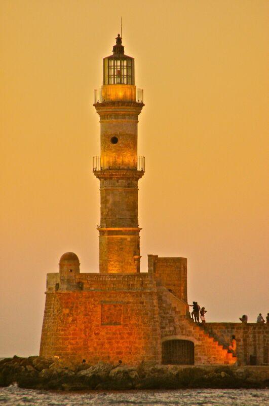 #Chania lighthouse