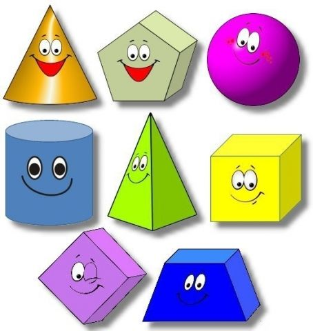 монтессори знакомство с геометрическими фигурами