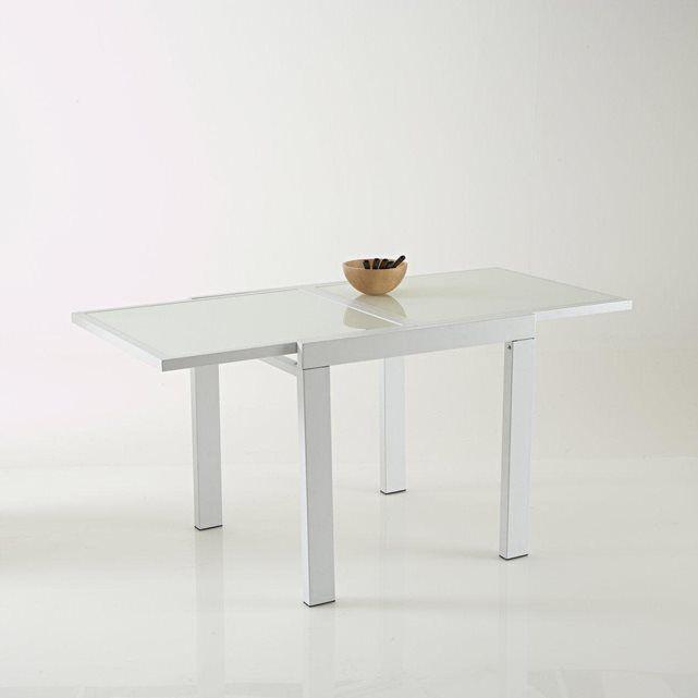 image Table extensible 75/150 cm, allonge intégrée, Janik