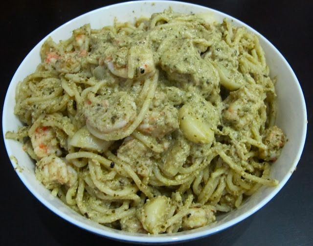 Creamy Pesto Pasta with Shrimp Recipe | Hindi Ako Si Kat
