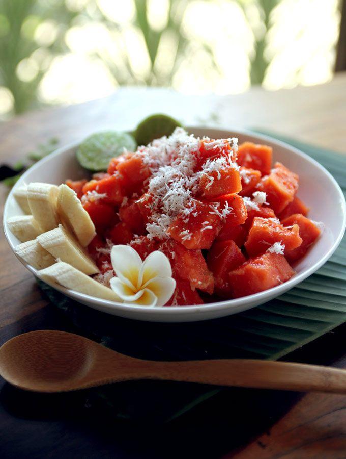 #Salad #Papaya #Healthy